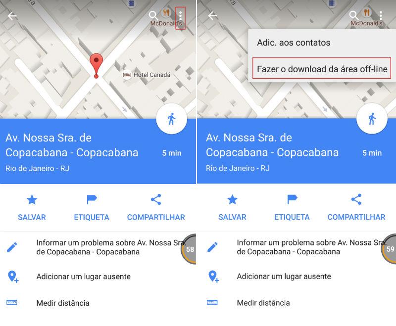 Como usar Google Maps sem conexão de internet