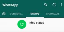 Quem pode ver seus Status do WhatsApp