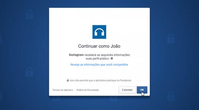 Descubra quais apps podem usar suas informações do Facebook