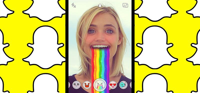 Resultado de imagen de filtros snapchat