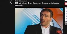 Marco deMello concede entrevista à Jovem Pan e fala sobre startups de Tecnologia