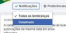 Como impedir que Facebook relembre seus momentos ruins
