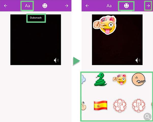 Dubsmash permite mandar mensagens dubladas