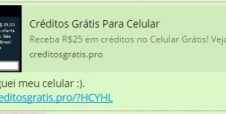 Novo golpe do WhatsApp oferece crédito ao usuário