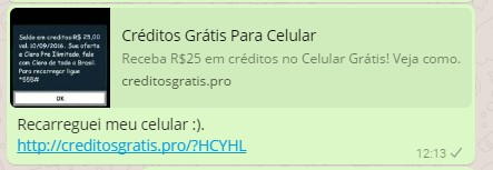 credito para celular