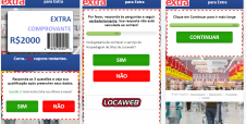 Novo golpe oferece falsos descontos de até R$ 2 mil