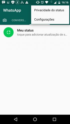 Como Escolher Quem Pode Ver Seus Status Do Whatsapp