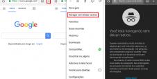 Aprenda como usar navegação anônima no celular