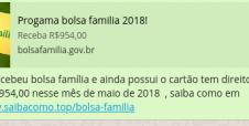 Alerta! Golpe do Bolsa Família já atingiu 600 mil brasileiros nas últimas 24 horas