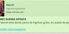 Alerta! Golpe promete ingresso grátis para Vingadores: Guerra Infinita