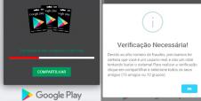 Falso cartão da Google Play é tema de novo golpe