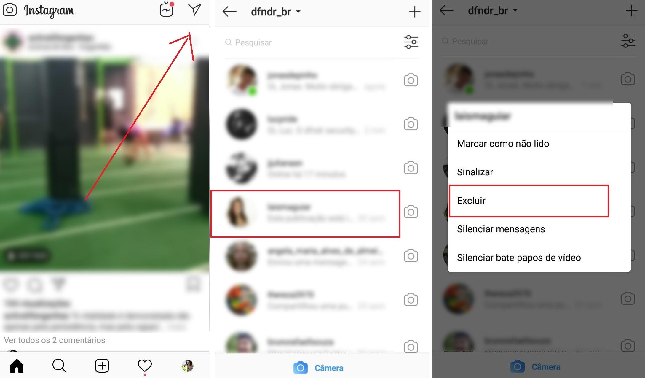 Mensagem Para Foto Instagram: Aprenda A Apagar Mensagens No Instagram