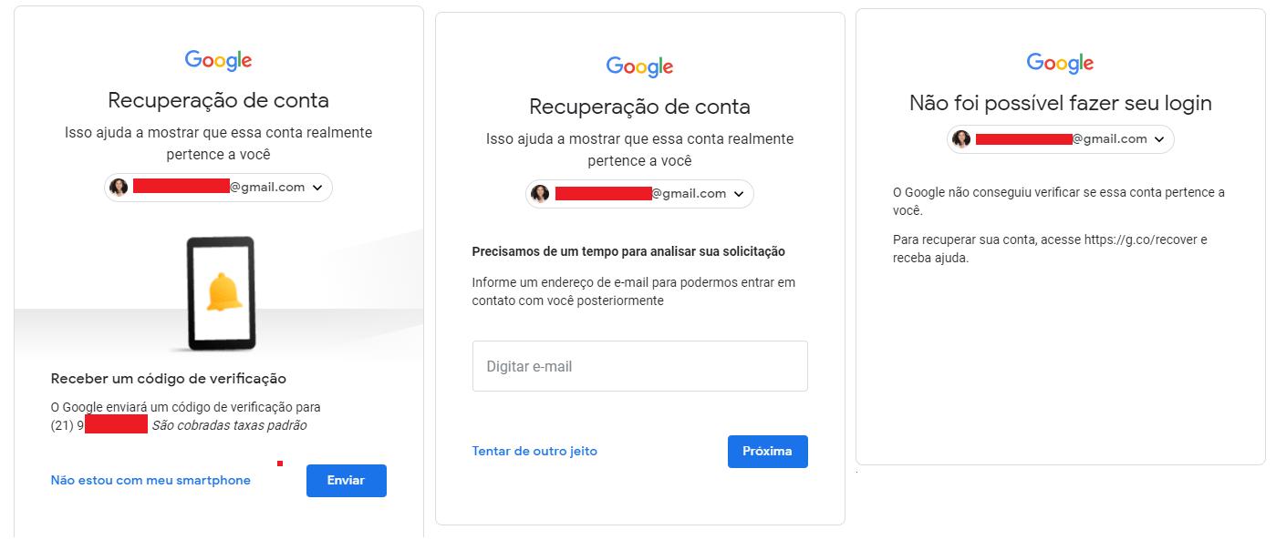 0d191a29d Gmail  como recuperar sua conta no email do Google