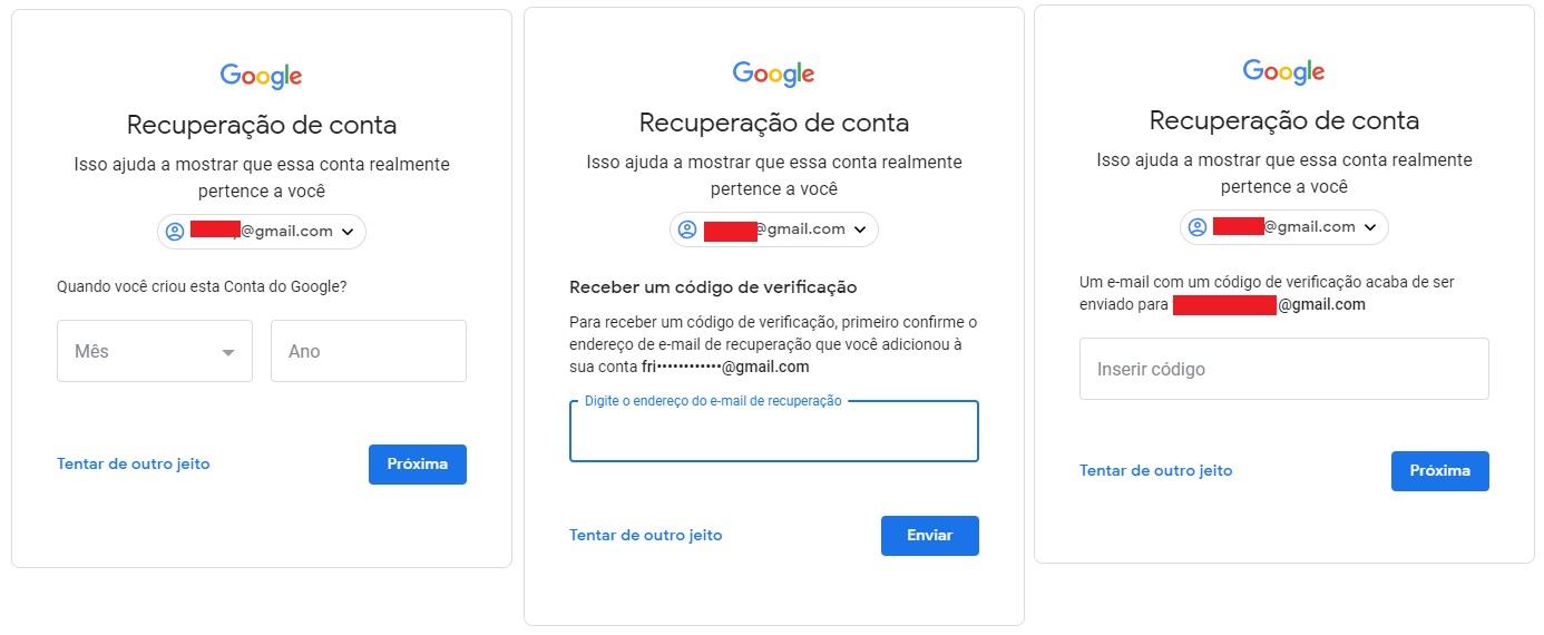 1f7b032c41 7 – O Google pedirá confirmação de que você está com seu smartphone. Caso  esteja