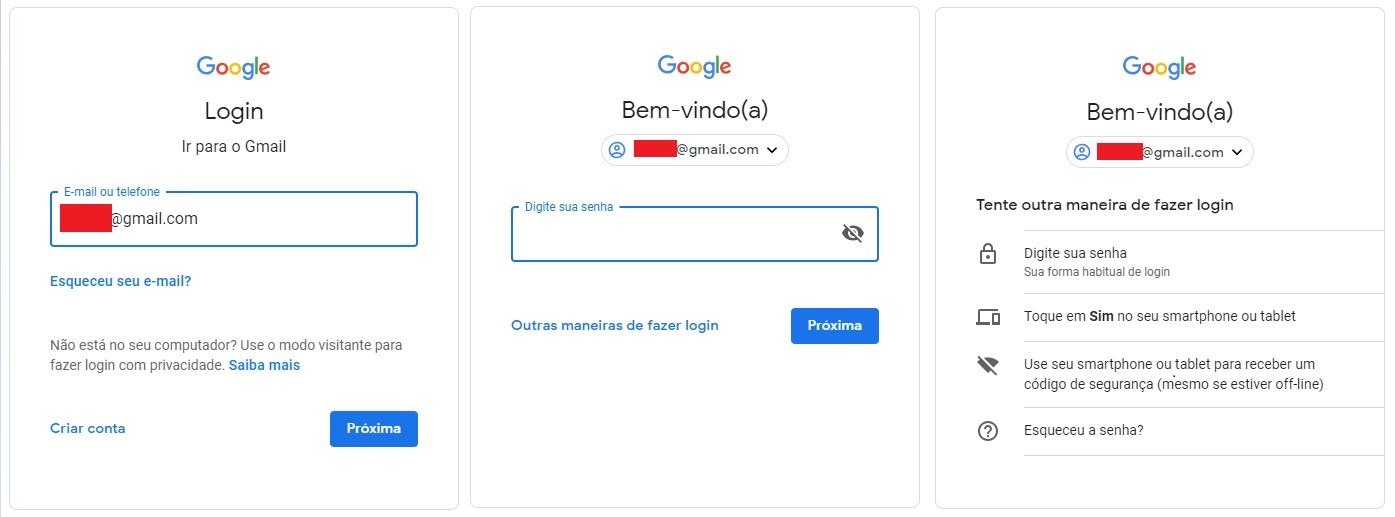 571a39acd5 Gmail  como recuperar sua conta no email do Google