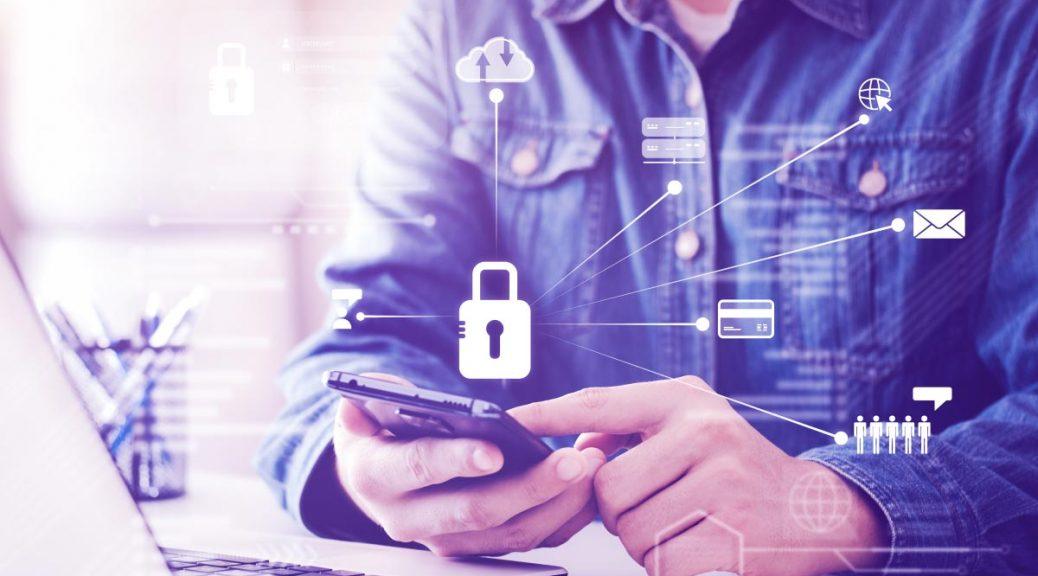 Segurança digital no computador e celular