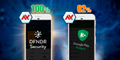 dfndr security Protects Androids 100%, Google Play Protect Does Not