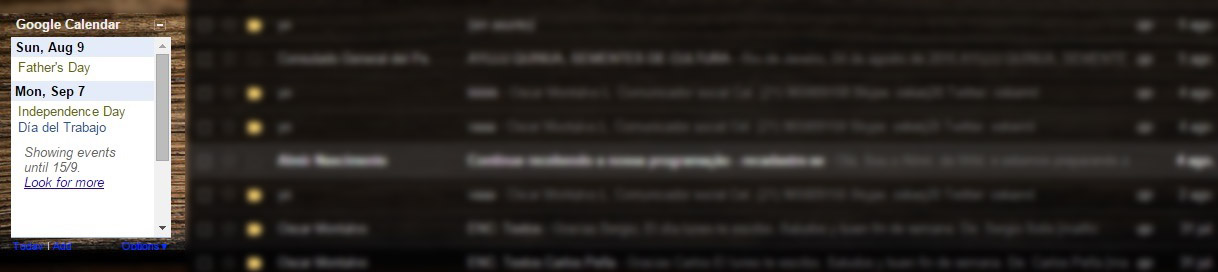 calendario gmail