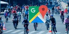 Google Maps ofrece rutas para los ciclistas de la CDMX
