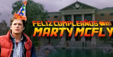 ¡Feliz cumpleaños, Marty McFly!