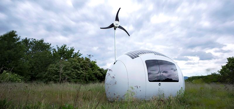 ecocapsule la casa del futuro totalmente ecol gica
