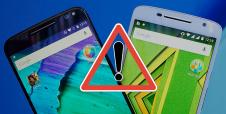 Si tienes un teléfono Motorola… ¡Estás en riesgo!