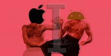 Android vs iOS, la batalla de los dioses