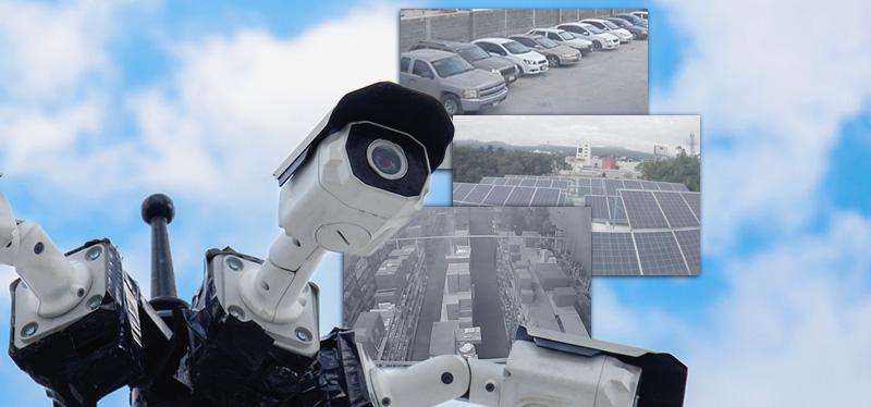cámaras web muestra